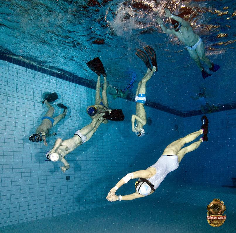 Unterwasser Rugby