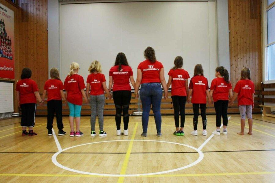 Kids Dance Gruppenfoto