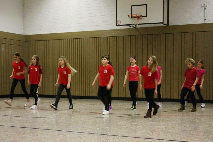 Kids Dance auf Position