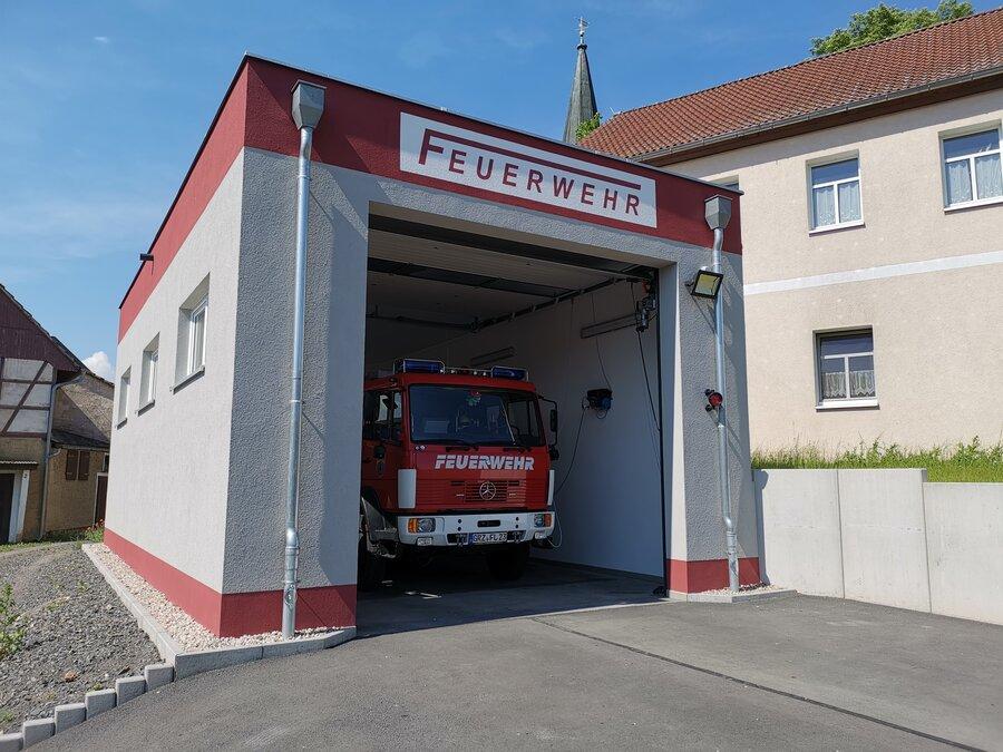 Feuerwehr Lederhose