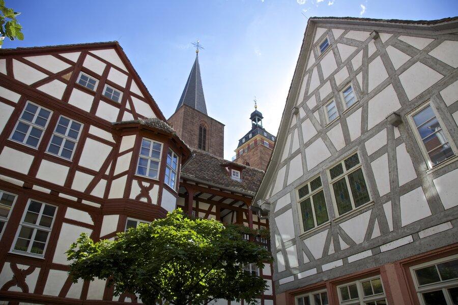 Foto: Historische Altstadt Neustadt an der Weinstraße, Fotorechte: gliglag.de