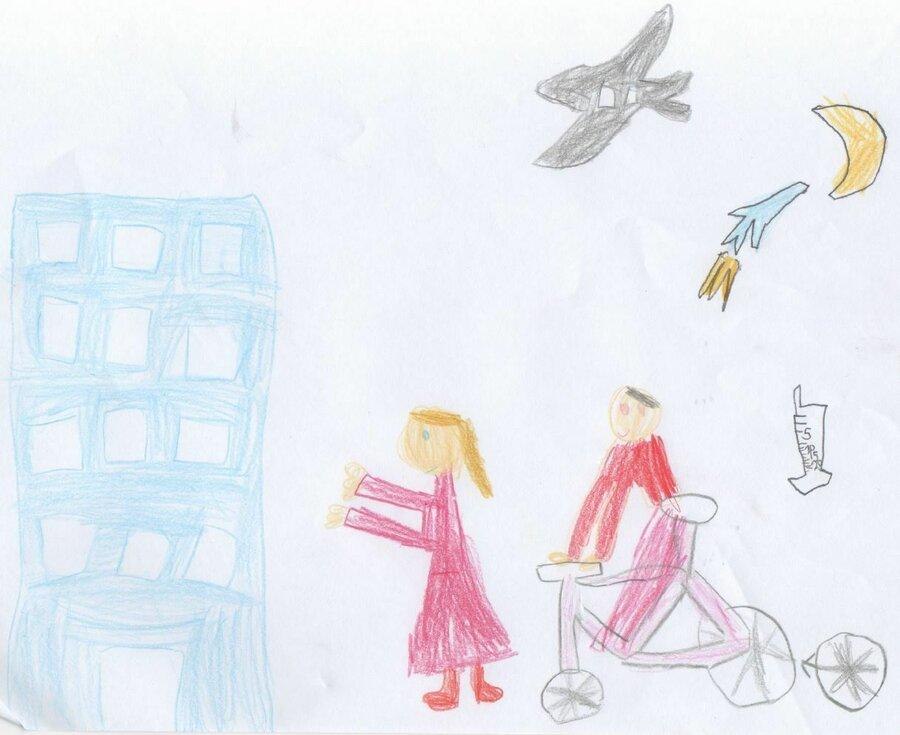 Louisa, 7 Jahre, WIPO