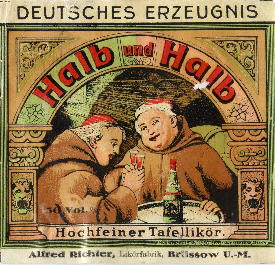 Etikett Halb & Halb, ©Stephan Becker, Brüssow