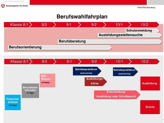 Berufswahlplan