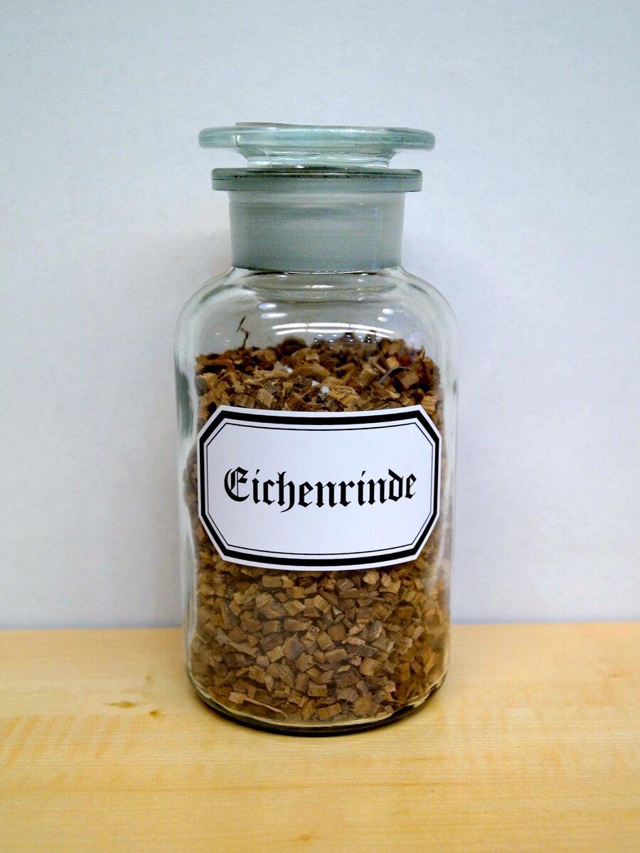 Eichenrinde, ©Stephan Becker, Brüssow