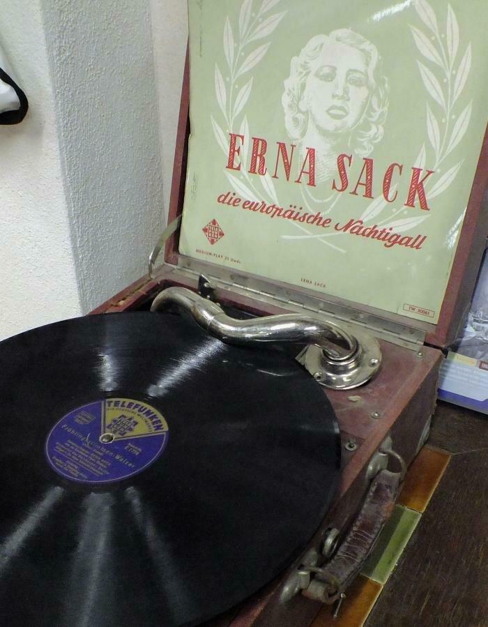 Erna Sack - die europäische Nachtigall - Schallplatte
