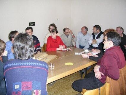 Ausarbeitung von Zukunftsvisionen für Weinheim bei der Dorfkonferenz