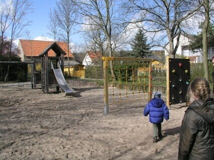 Die Kinder haben viele Vorschläge für den Spielplatz