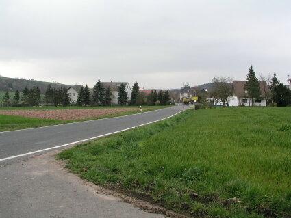 Ortseingang aus Richtung Hundsbach