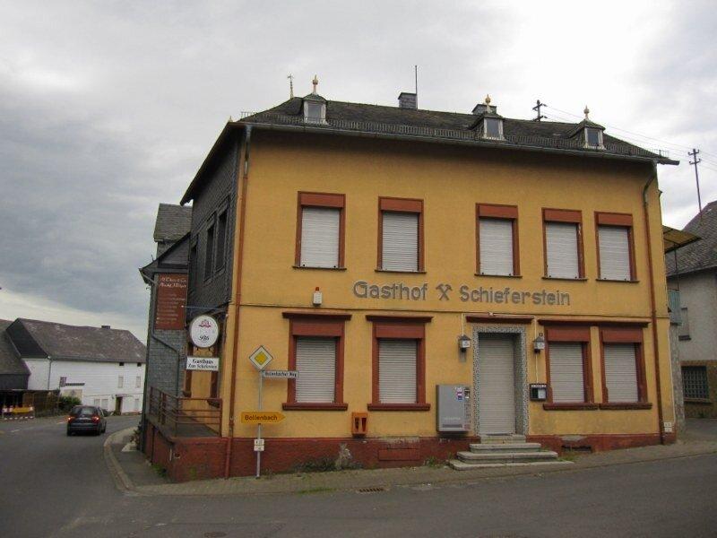 Leerstehende Gebäude wie diese Gaststätte sind ein wichtiges Thema in der Dorferneuerung Bundenbach