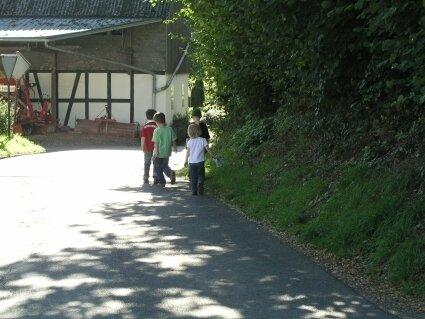 Wichtig ist auch die Verkehrssicherheit für Kinder