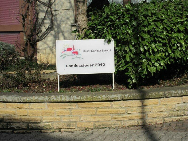 """Landessieger 2012 im Wettbewerb """"Unser Dorf hat Zukunft"""""""