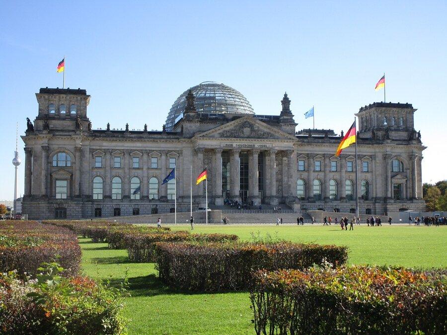 Sitz des Deutschen Bundestages in Berlin