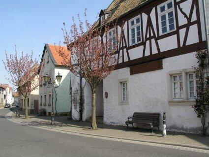 Das Rathaus in Hüffelsheim