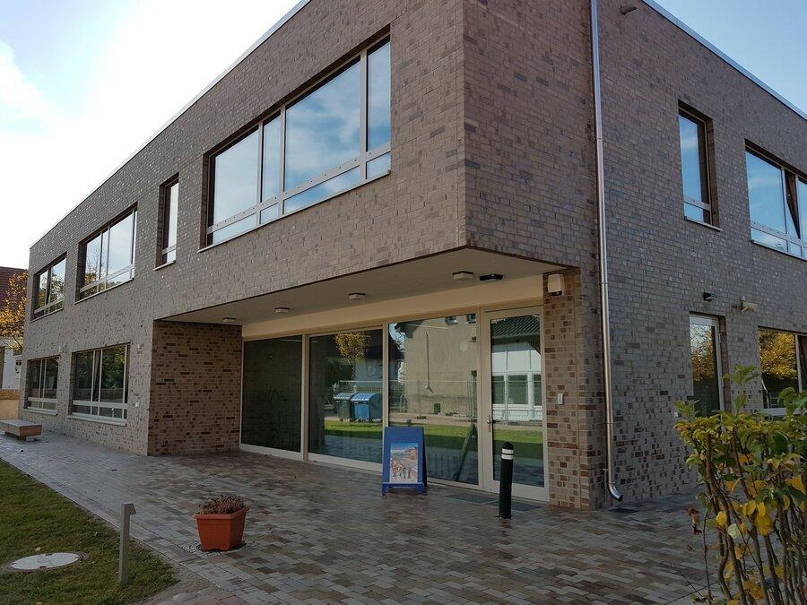 Das Schulgebäude Haus C