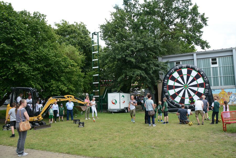 Die Laerer Dorfolympiade sorgte für mächtig Stimmung und Abwechslung. (Quelle: Vereinigte Laer)