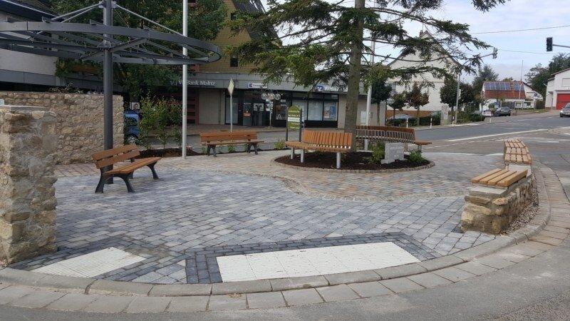 Das erste Projekt: Umgestaltung des Ramonchamp-Platzes bereits umgesetzt