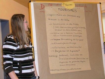 AG Tourismus bei der Dorfkonferenz