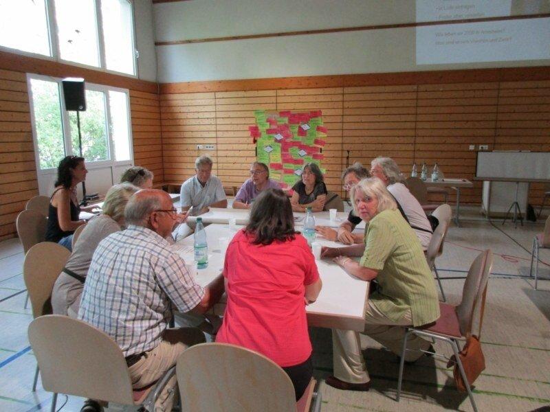 Dorfkonferenz: Arbeitsgruppe Ortskern und Kultur