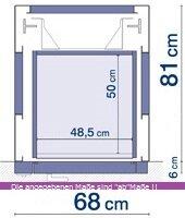 Schachtabmessungen_Homelift_Design_XS