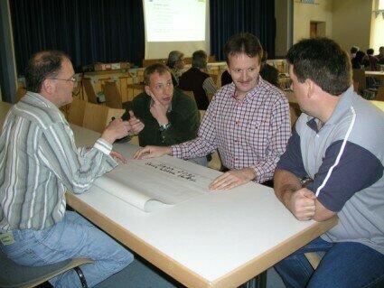 Arbeitsgruppen entwickeln Visionen für 2030