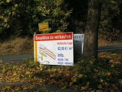 Bauplätze zu verkaufen