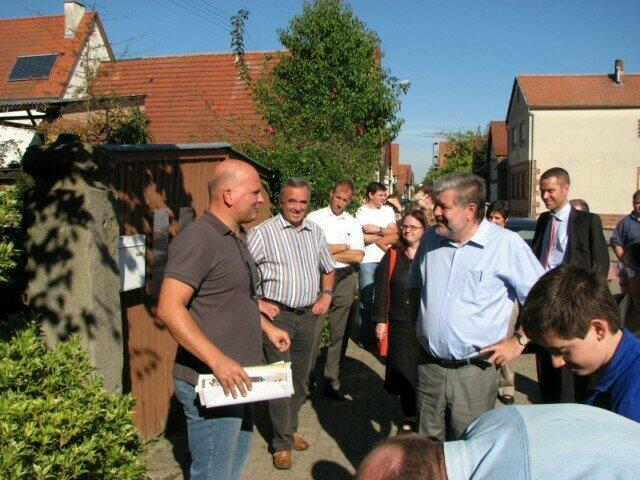 Besuch von Ministerpräsident Kurt Beck in Vollmersweiler