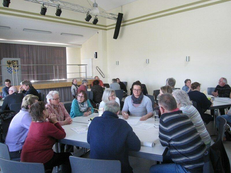 Arbeitsgruppen diskutieren ihre Ziele und Visionen für 2035