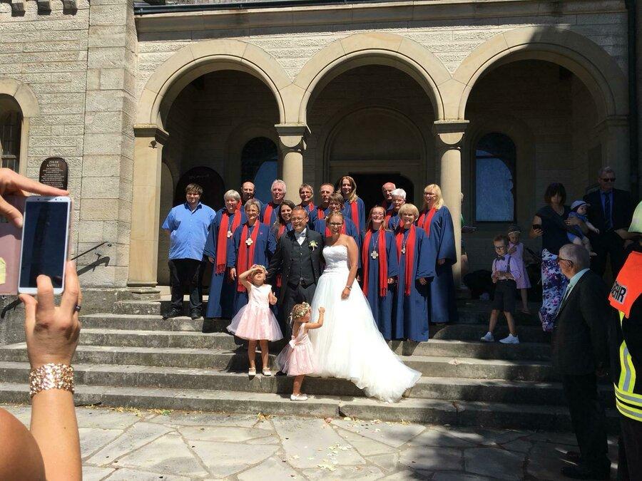 Hochzeit im Zeiler Käppele