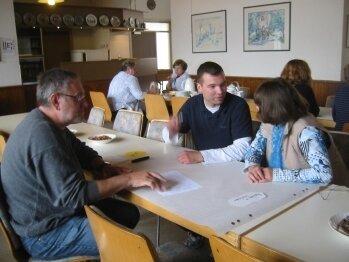 Gruppenarbeit: Visionen für Neuhofen in 2030