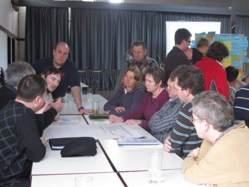 Dorfkonferenz am 15. Januar 2011