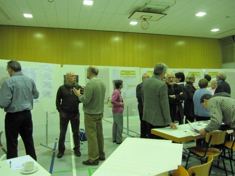 Bilder vom Projektcafé am 8. Januar 2012