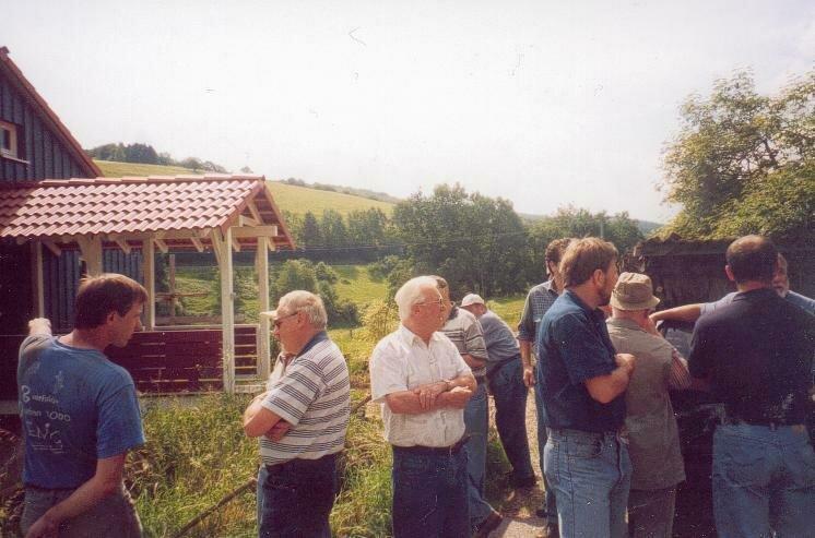 Ortsbegehung am 8. Juni 2002