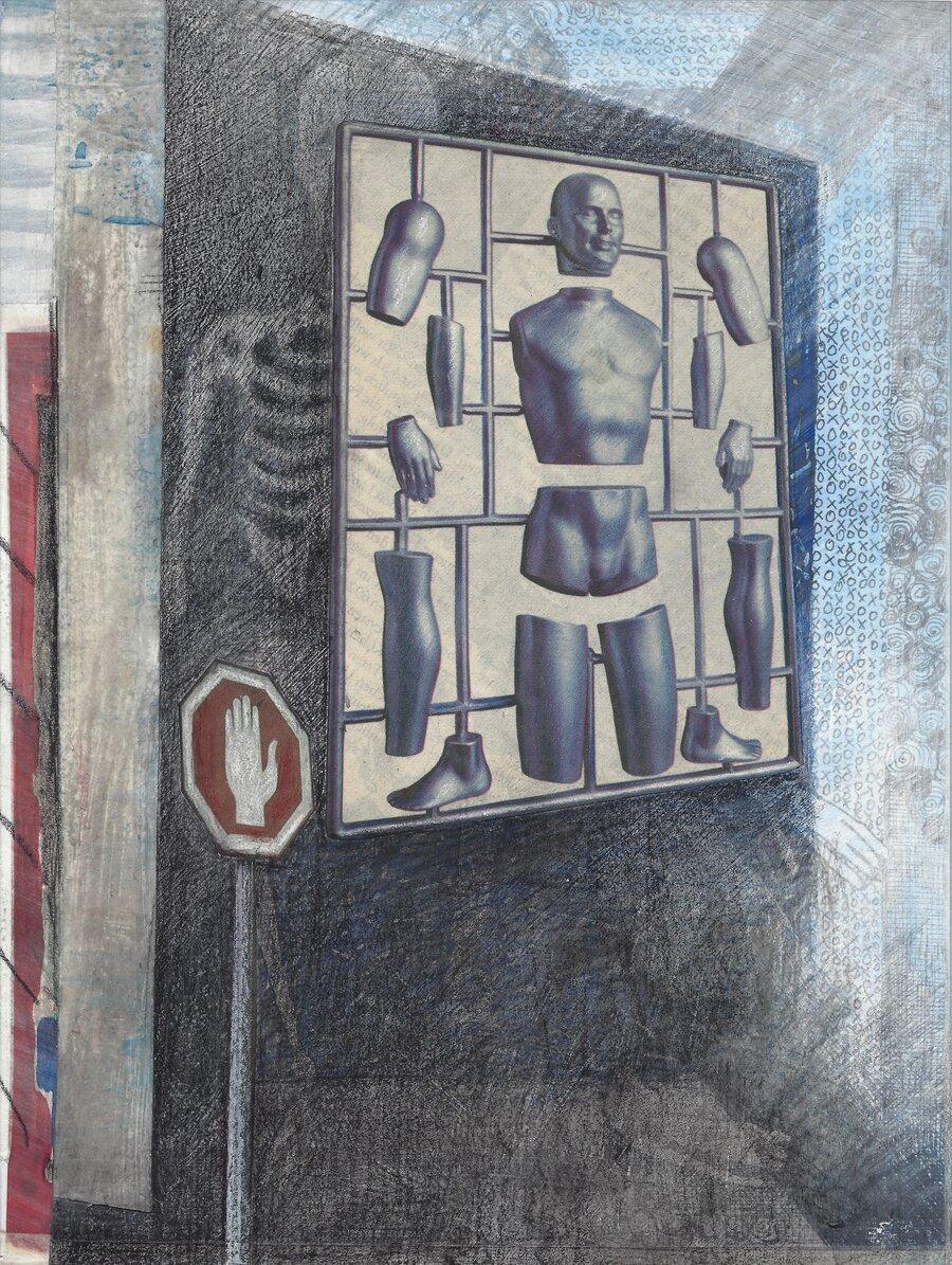 playground - 28 x 21 cm, 2008