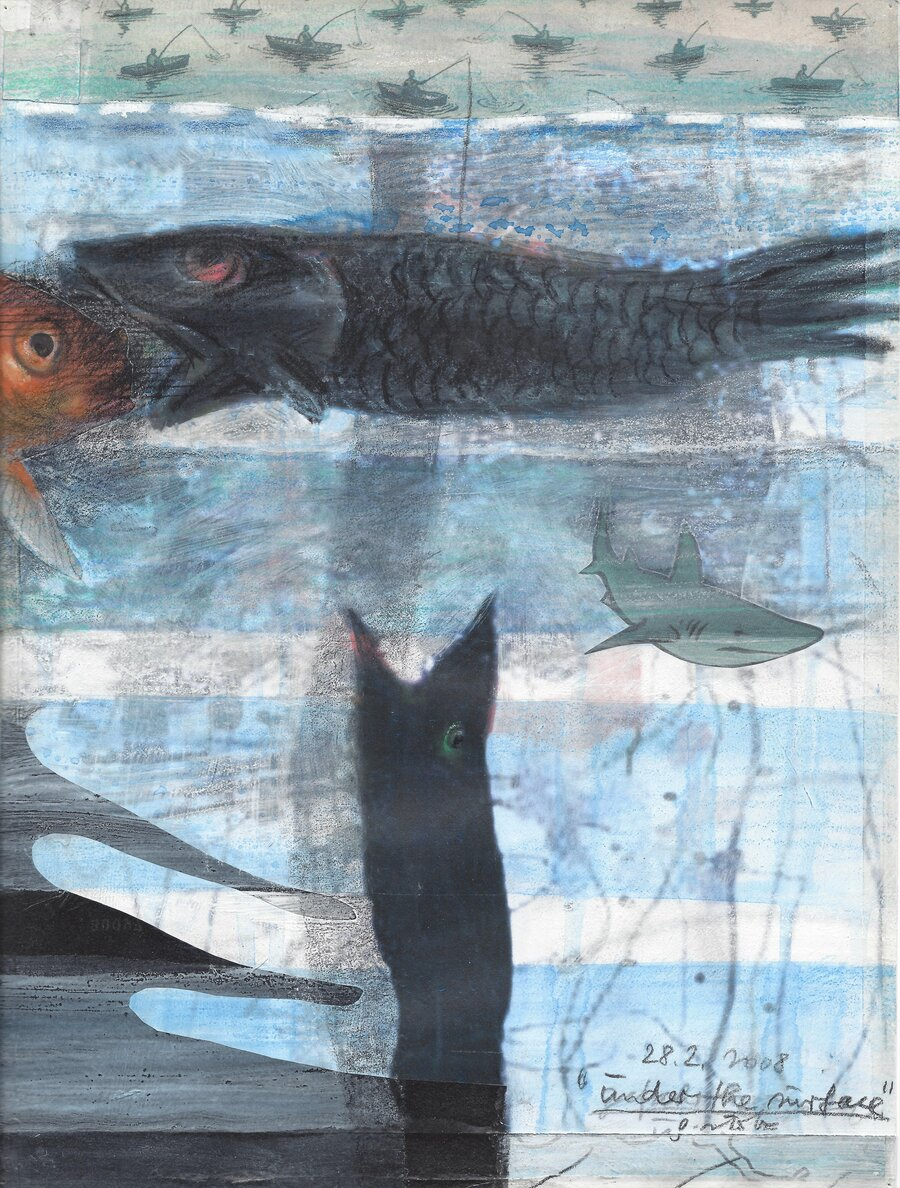 under the surface - 28 x 21 cm, 2008