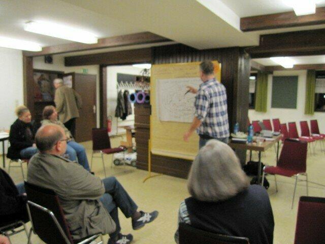 Präsentation der Visionen für 2030: Dorfgemeinschaft und Vereine