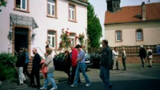 Ortsbegehung am 9. Juni 2001