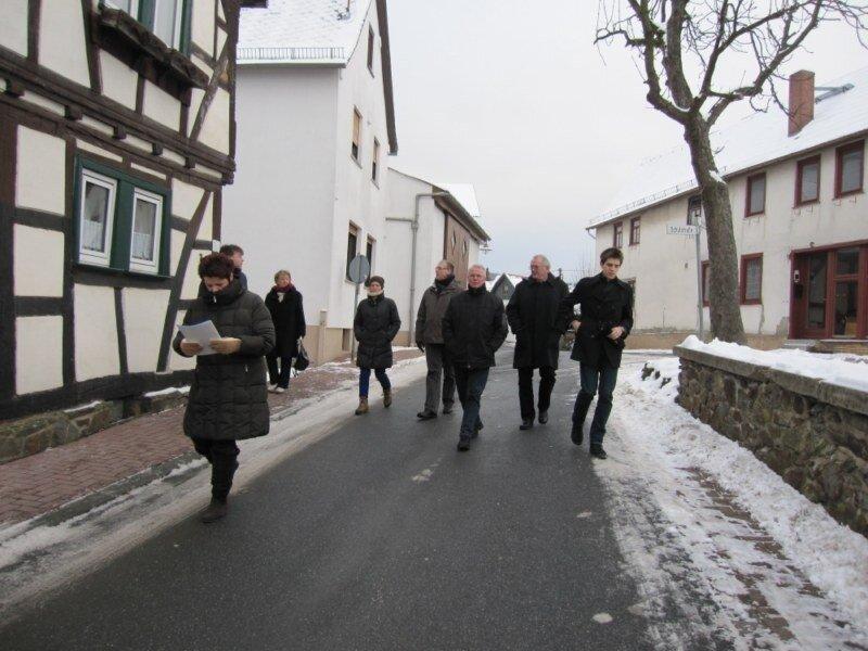 Begehung in Grävenwiesbach