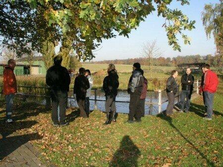 Der Teich könnte deutlich aufgewertet werden