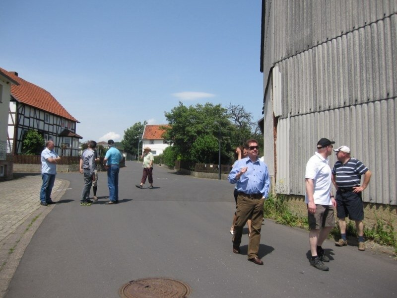 Begehung Römersberg