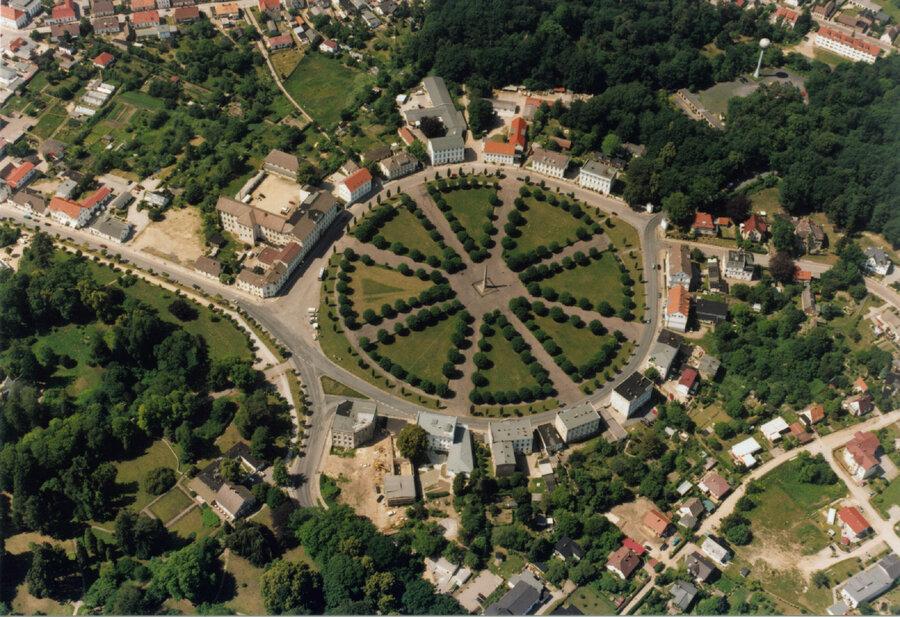Putbus Luftbild