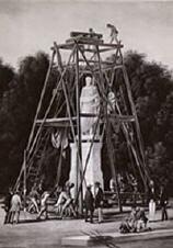Errichtung des Denkmales für den Fürsten zu Putbus