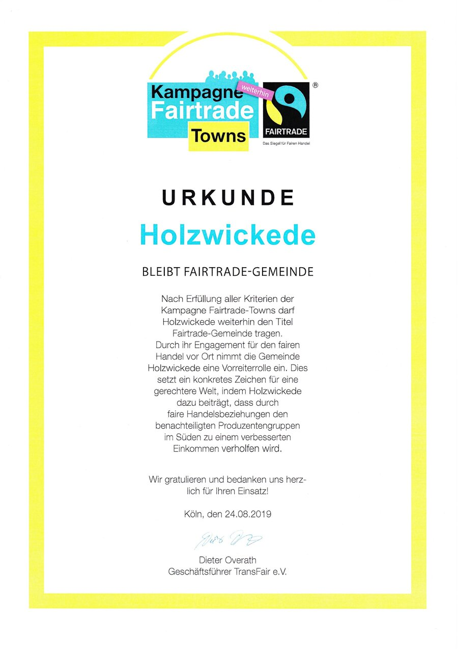 Fair-Trade_Urkunde_24.08.2019