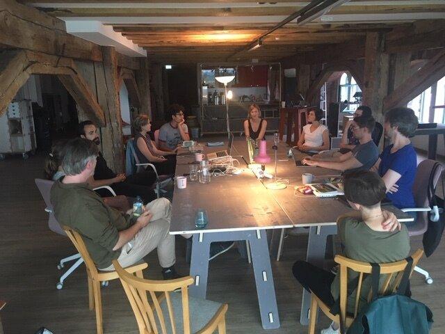 Der Coworking Space auf dem Gelände der alten Ölmühle I Foto: Annegret Spillner