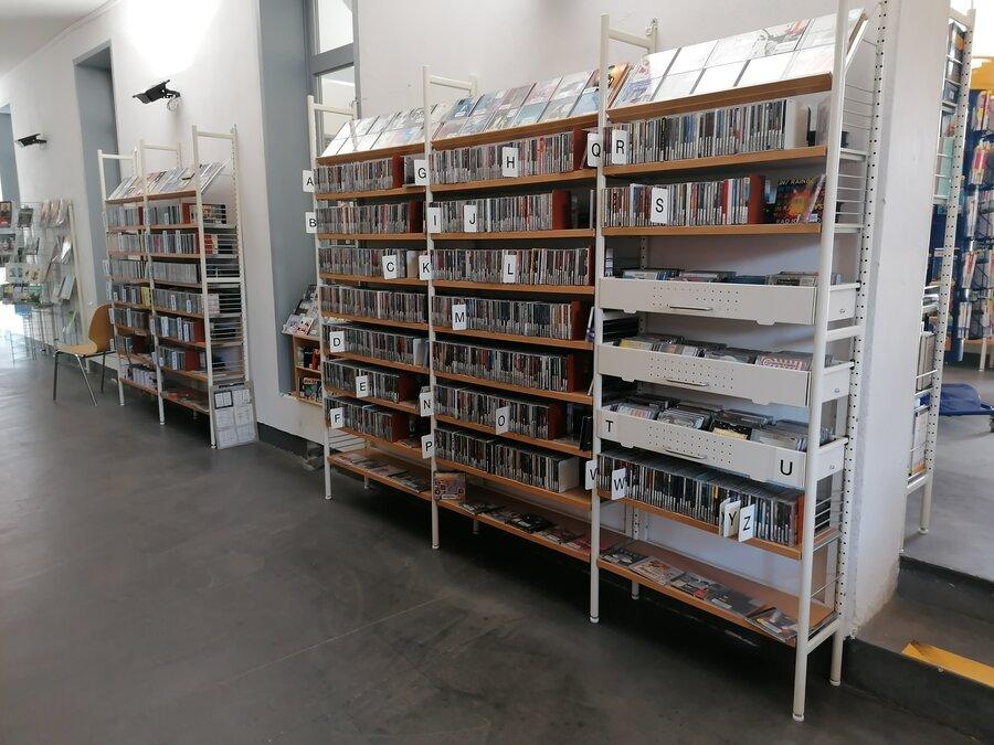 Musik-CDs im Eingangsbereich | Foto: Stadt Perleberg