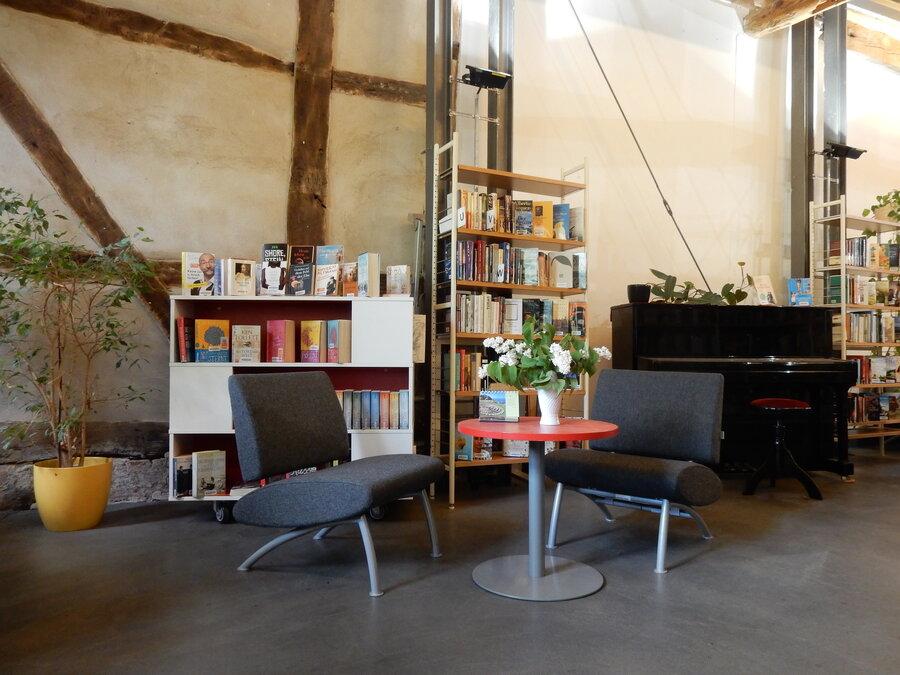 Leseplätze im Erdgeschoss | Foto: Stadt Perleberg
