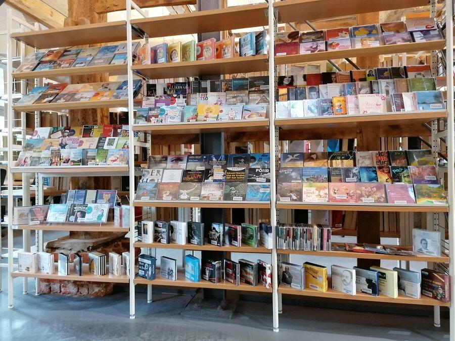 Hörbucher im Erdgeschoss | Foto: Stadt Perleberg
