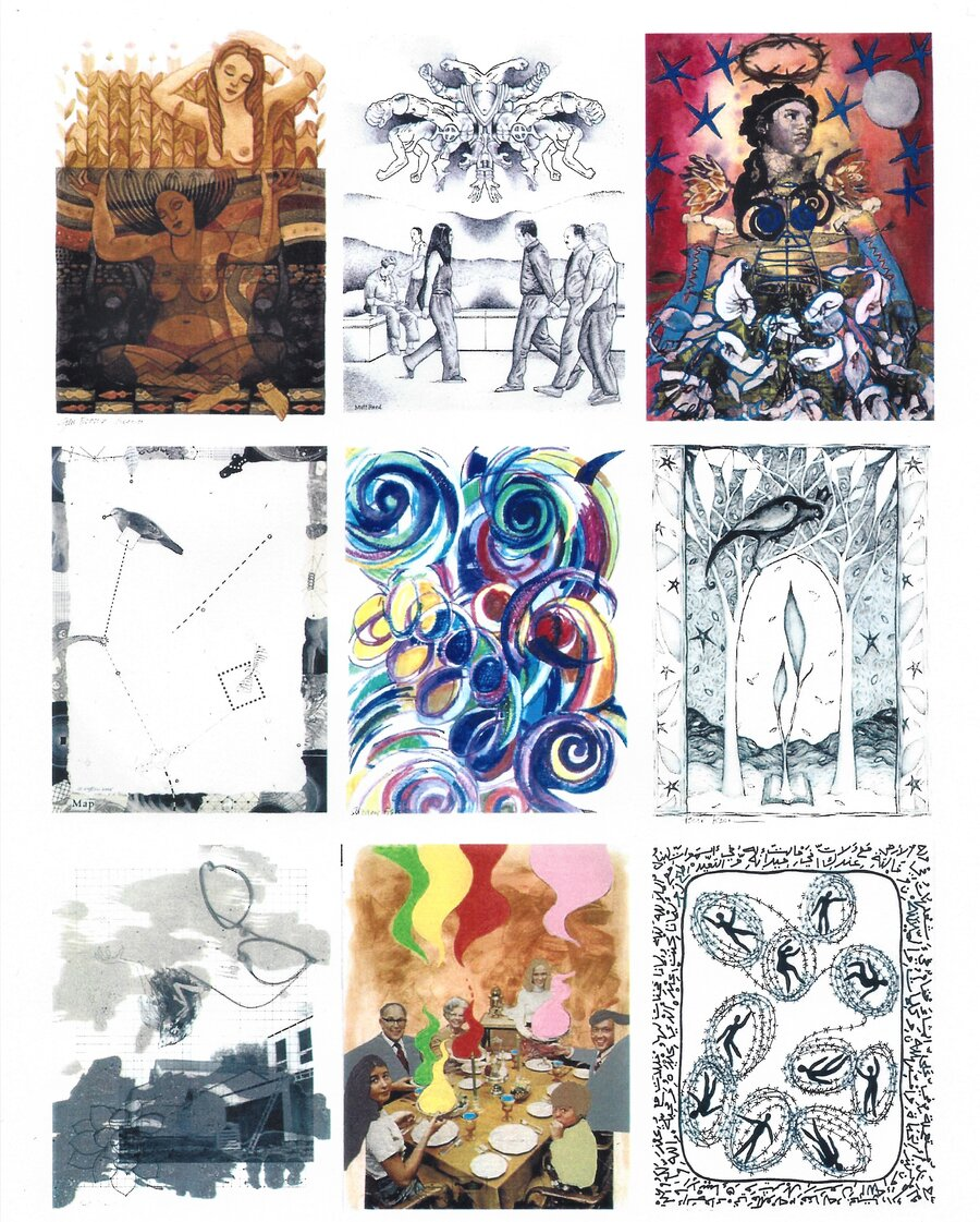 Originalarbeiten der amerikansichen Künstler