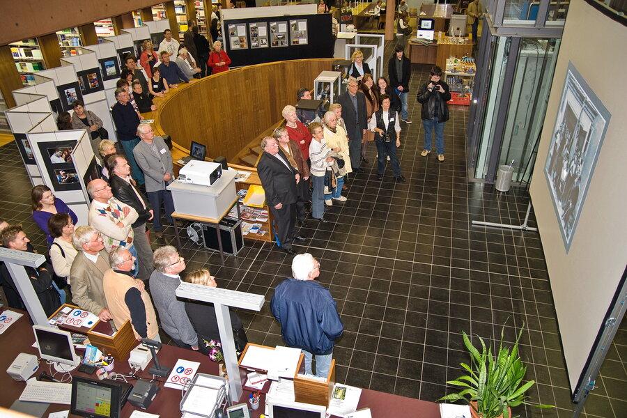 Vernissage zur Jubiläums-Ausstellung im Jahre 2009