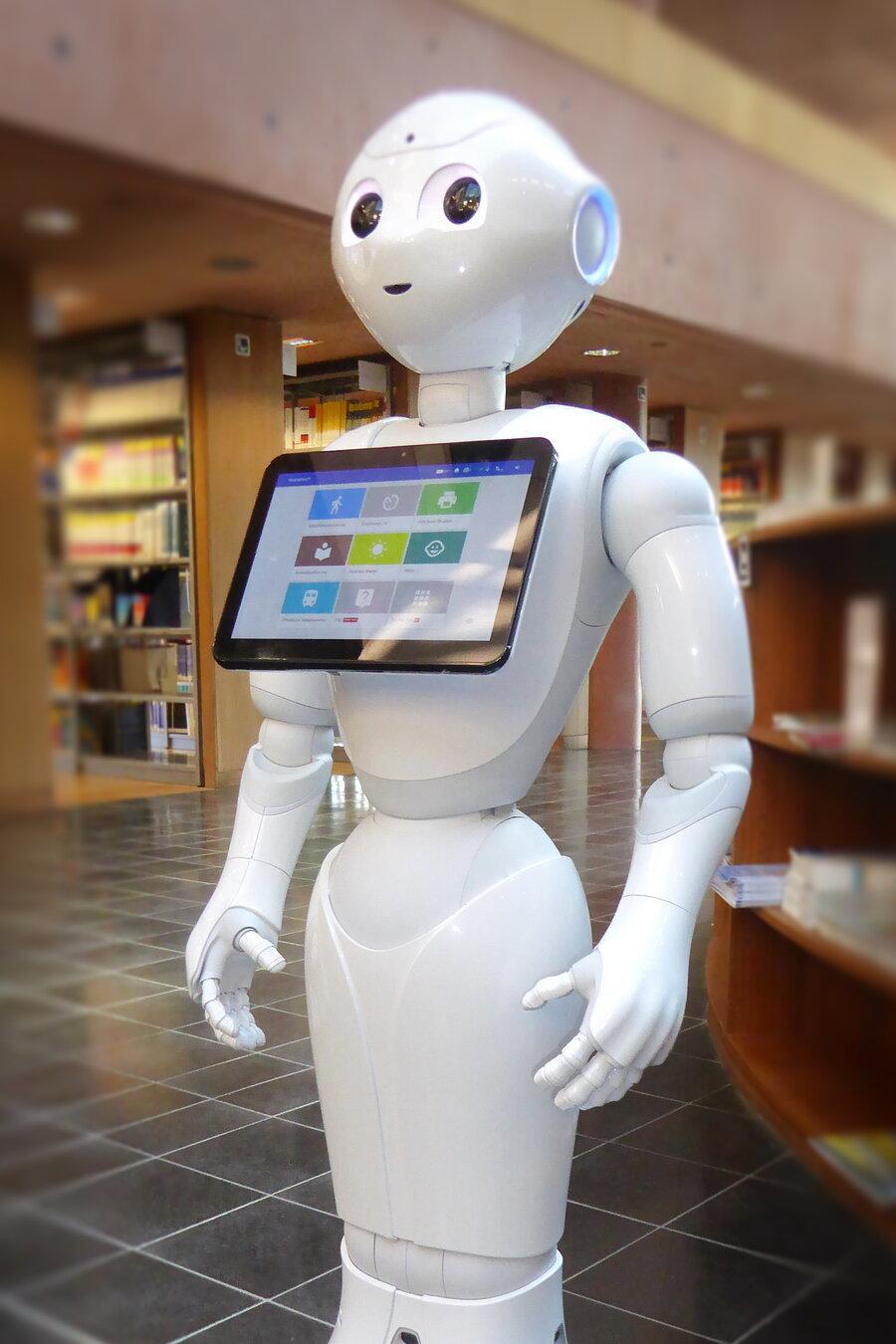 Bibliotheksroboter Wilma